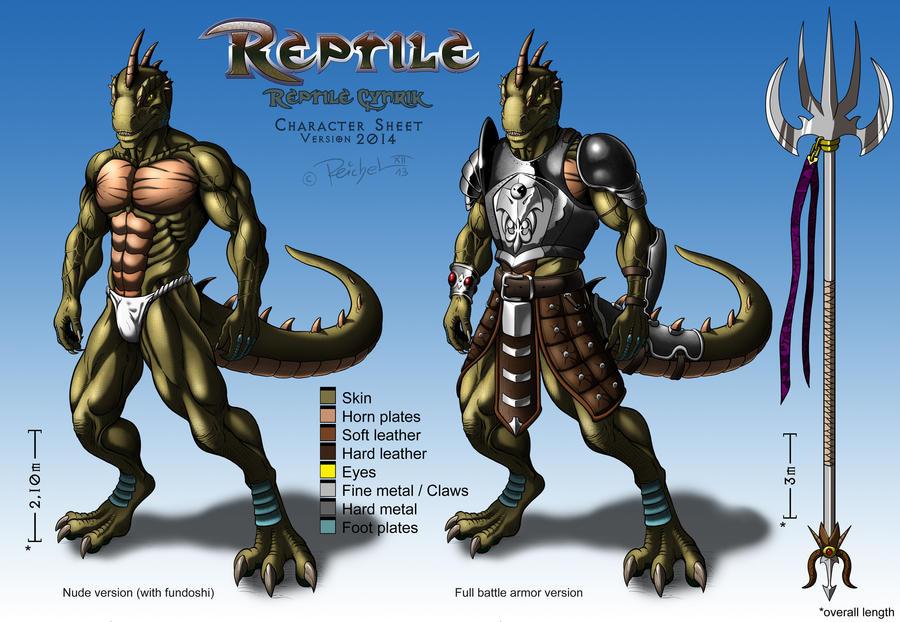 Reptile cynrik by Bleakcat on DeviantArt