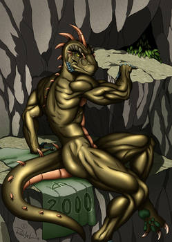 Reptile Cynrik for 2000 watchers