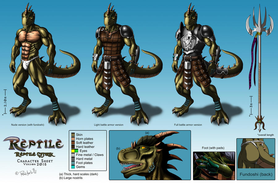 Reptile Cynrik by TargonRedDragon on DeviantArt