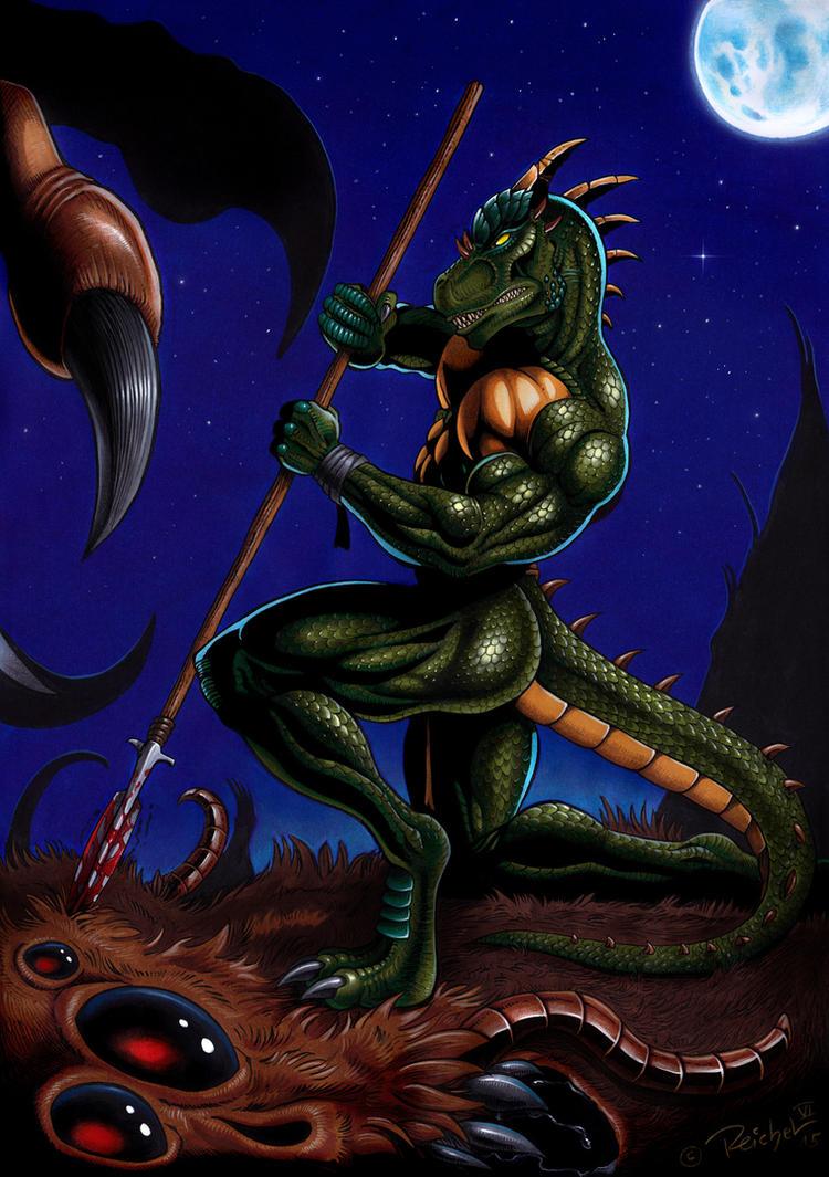 Native Warrior by ReptileCynrik