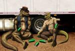 Taking a short break by ReptileCynrik