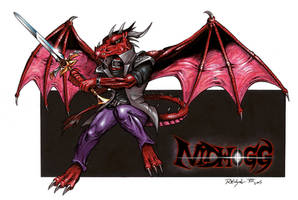NIDHOGG - Art Trade by ReptileCynrik