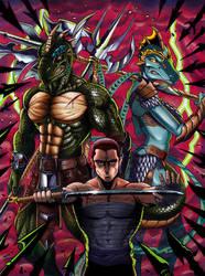 Triple Force by ReptileCynrik