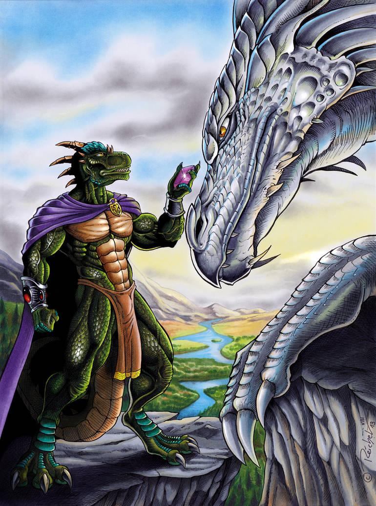 Meeting Reptile by ReptileCynrik on DeviantArt