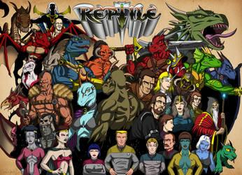 The Reptile Universe