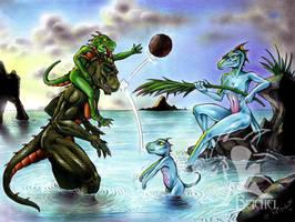 Family Fun by ReptileCynrik