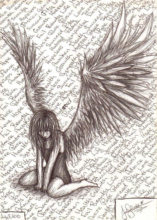 Fallen Angel by SyettaJ on DeviantArt