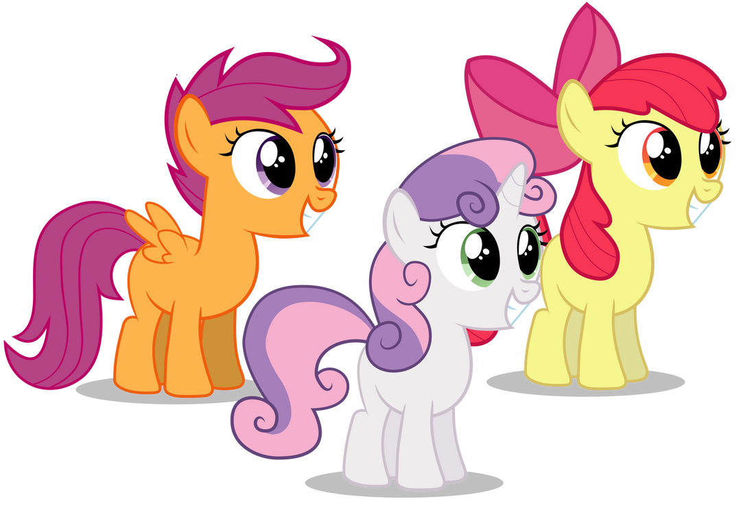 Cutie mark crusaders by liamwhite1 on deviantart - My little pony cutie mark wallpaper ...
