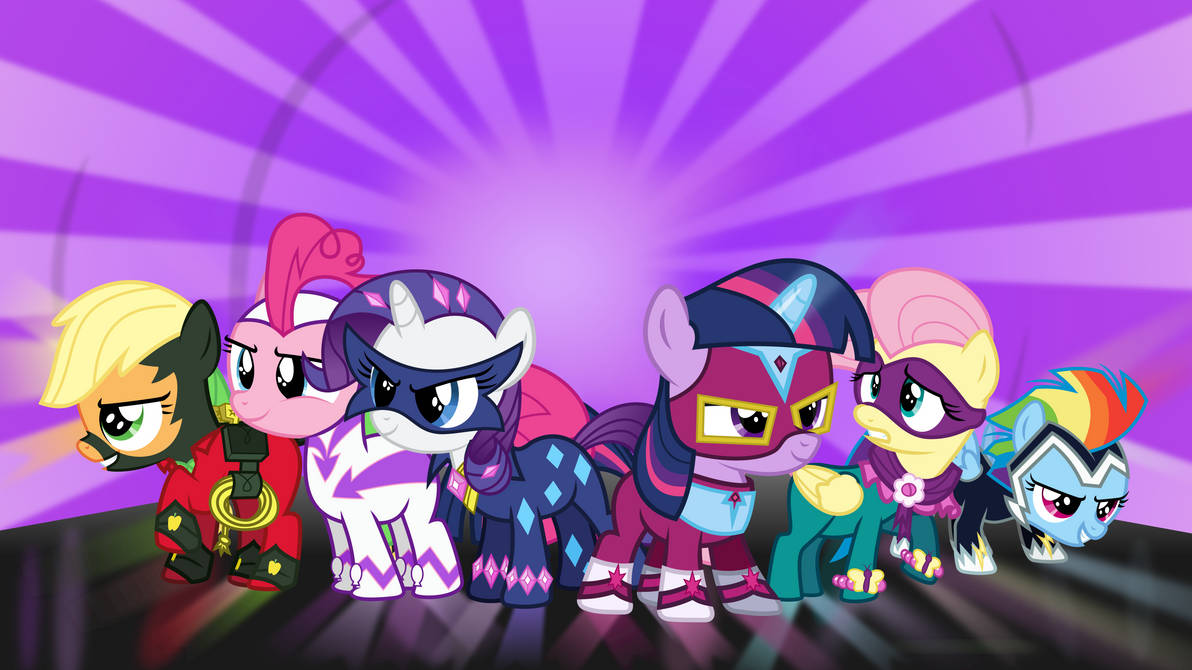 [Collab] The Power Fillies