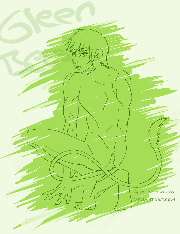 Green Beast by GealachCaora