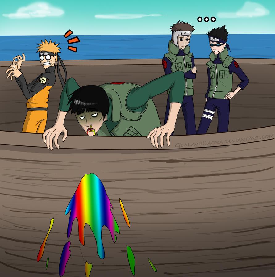 Rainbow Puke by GealachCaora