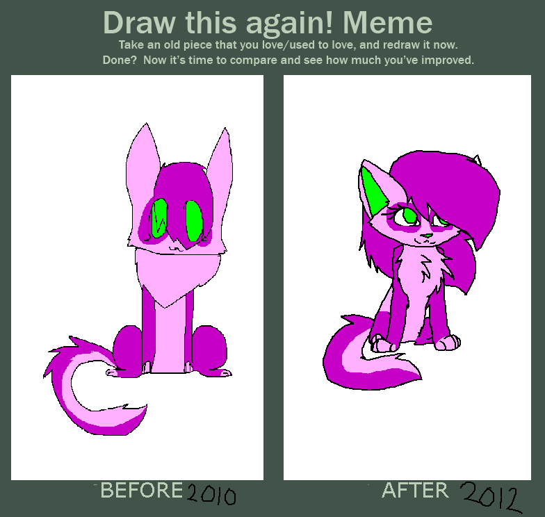 Before and after! meme by Miikit
