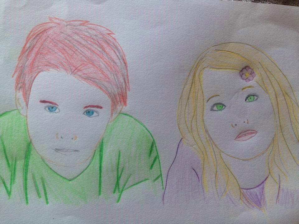 Finn and Adrianna by Kori-Kisai