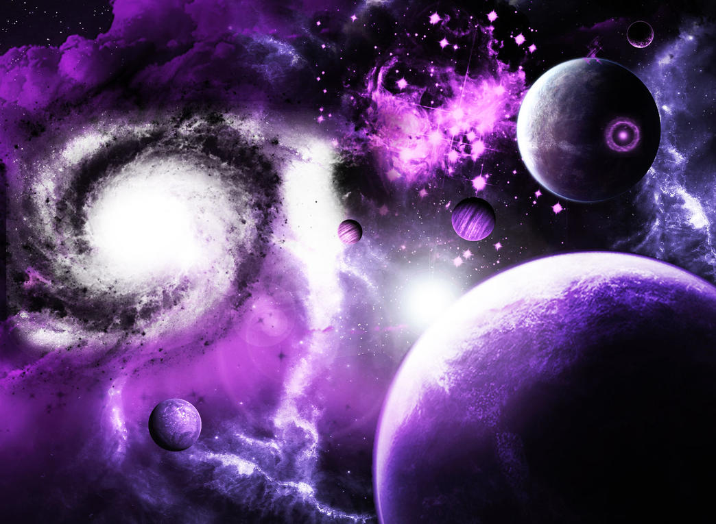 purple universevickie666 on deviantart