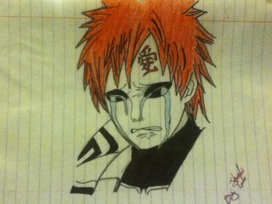 Gaara by 7th-Night-Creature