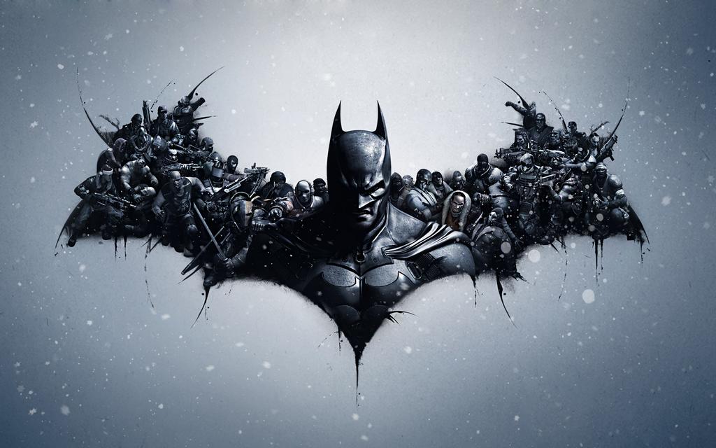 Batman Arkham Origins Lithography