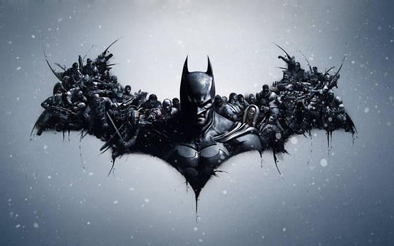 Batman: Arkham Origins Lithography - Mod
