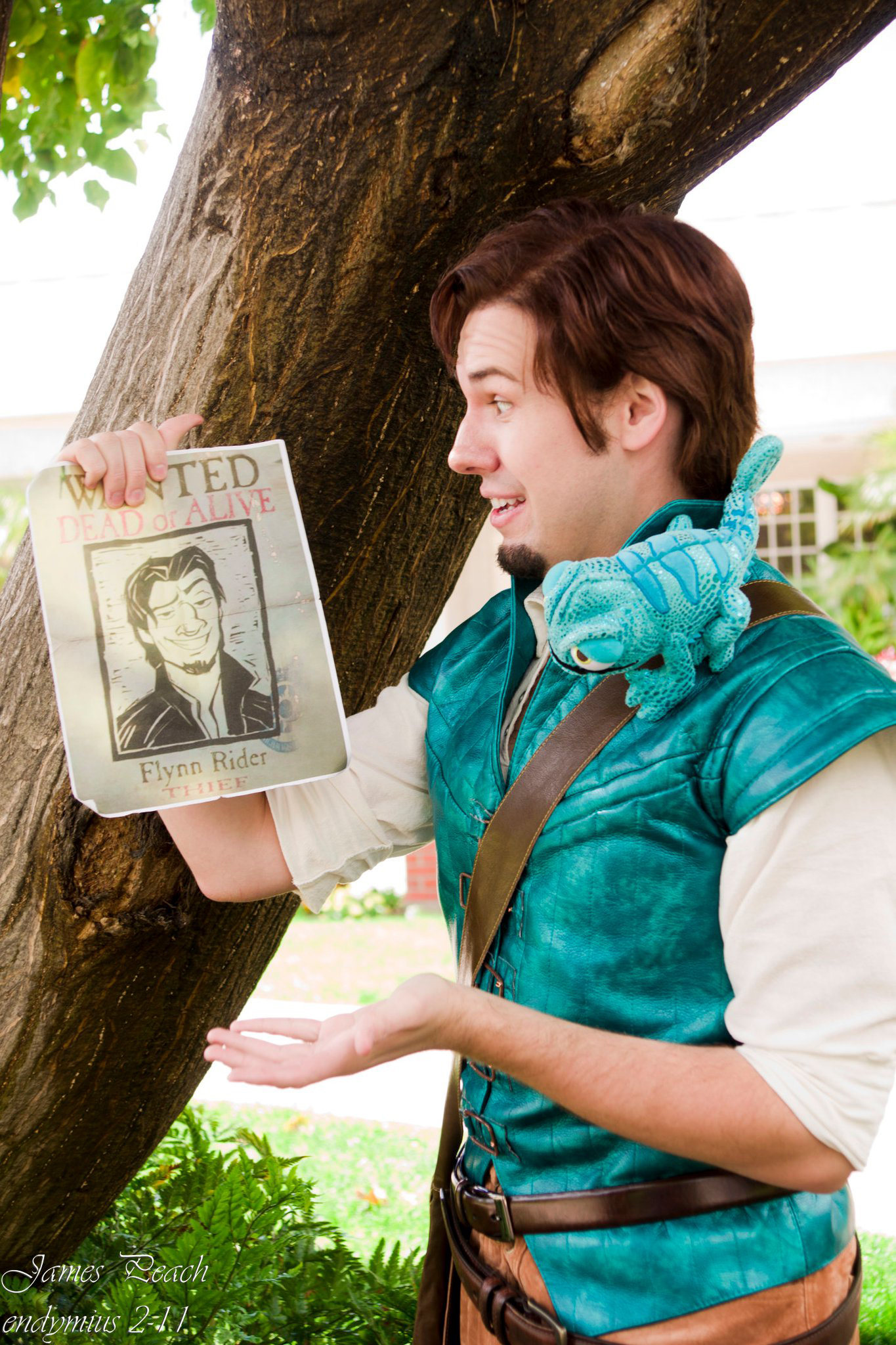 Flynn Rider Cosplay Wanted