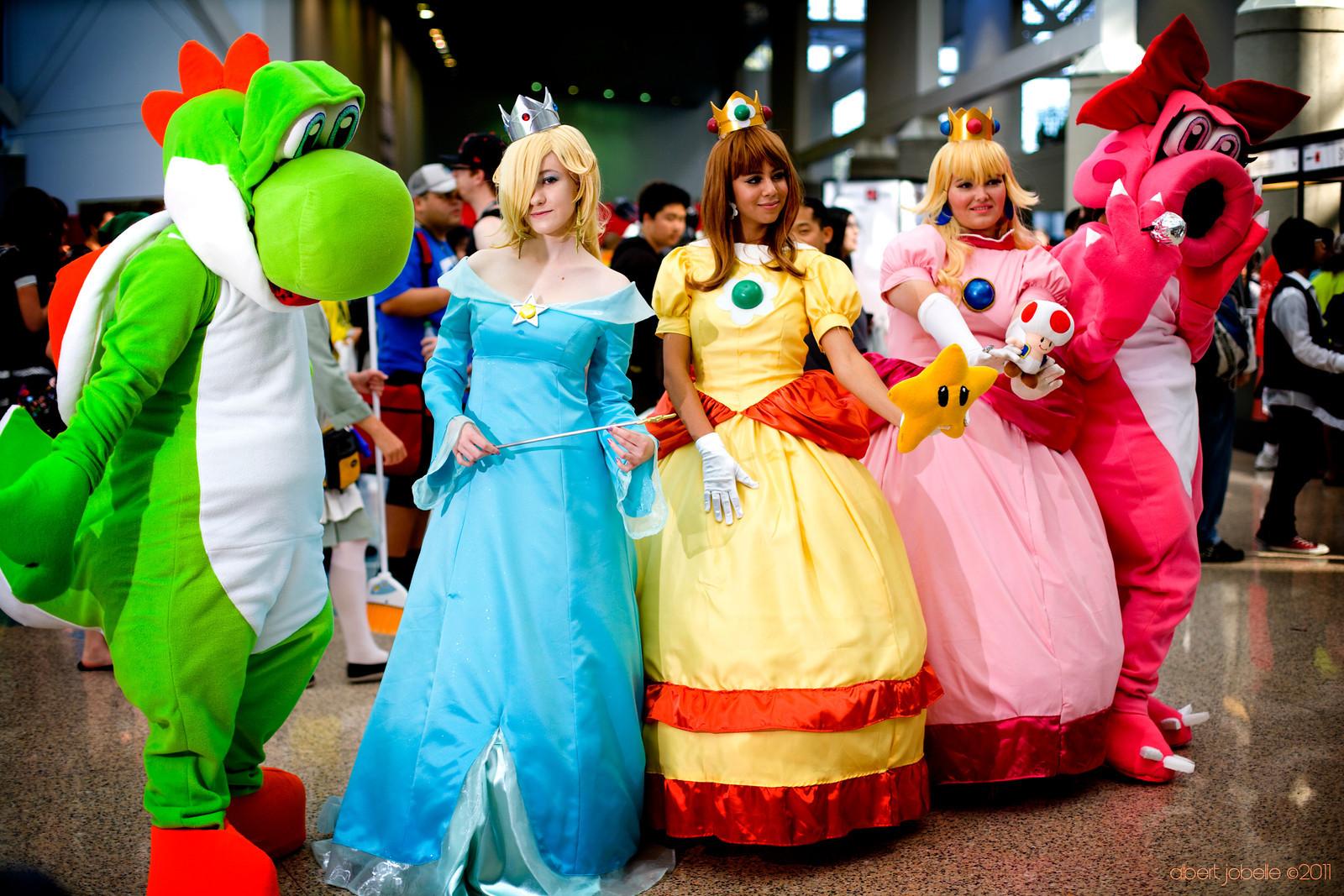 Nintendo Cosplaying Group by Chingrish on DeviantArt