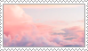 Pink Clouds Stamp by Stamp0