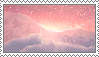 Pink Sunrise Stamp by Stamp0