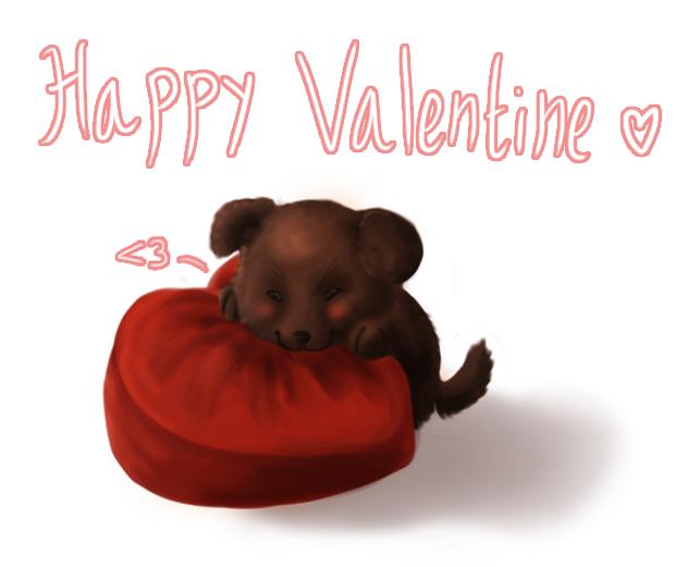 Happy Valentine by Hooshakosh
