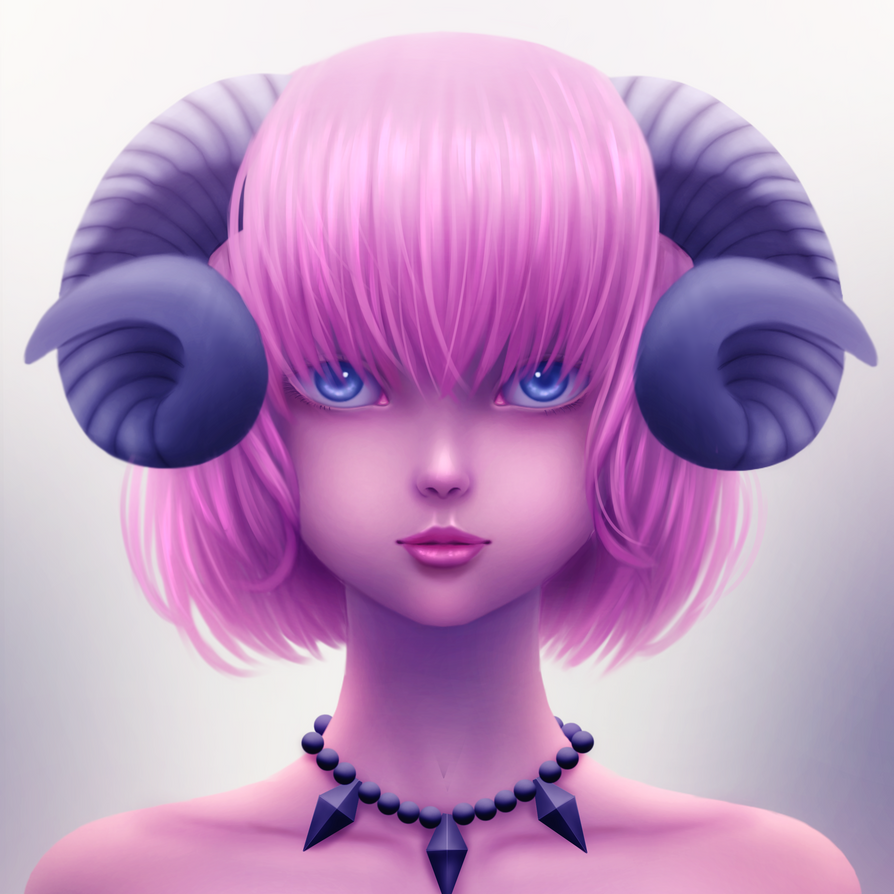 Ram Girl ( OC ) by yhamzie