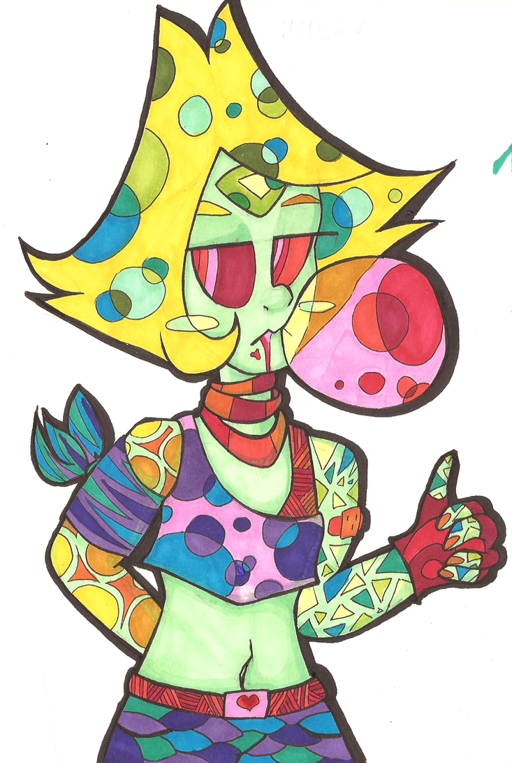 bubblegum = drug by chainy-chainick