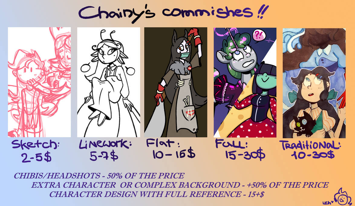 Commissions OPEN (yay!!)