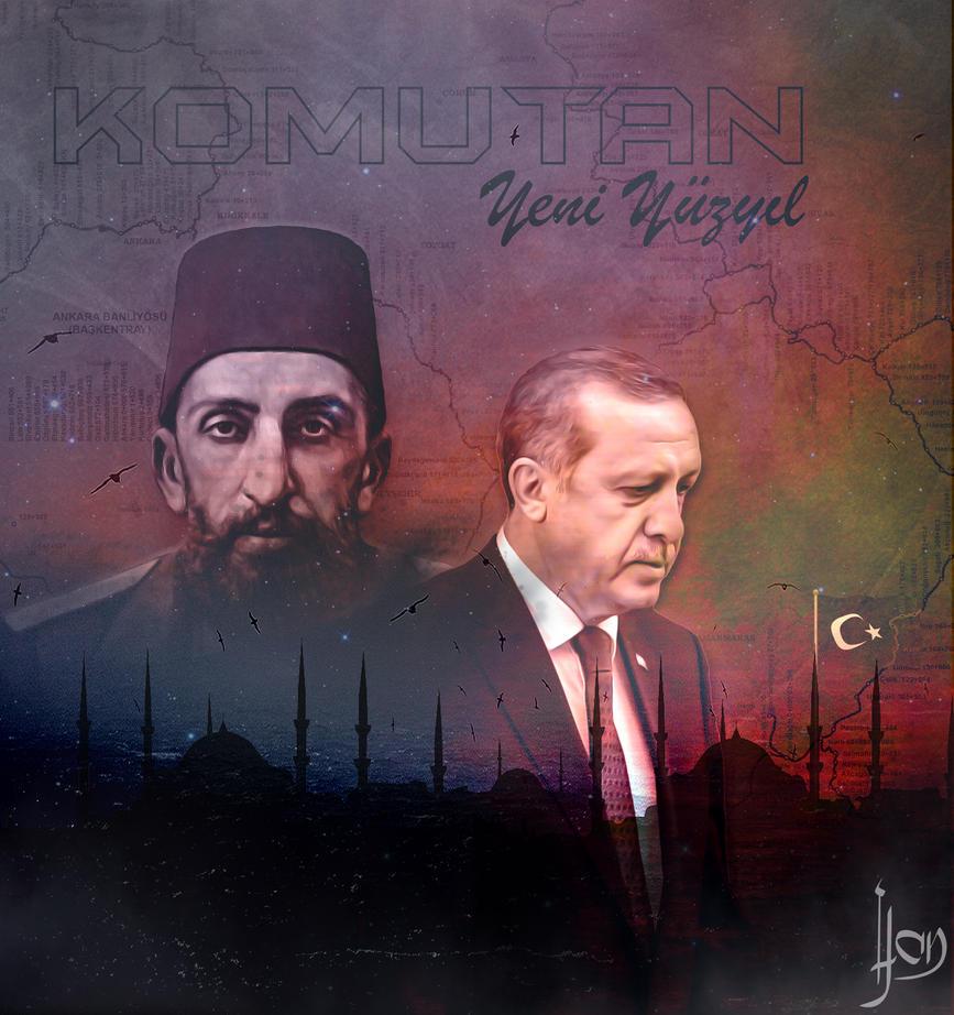 Sultan Abdulhamid Han ve Recep Tayyip Erdogan by amilhan