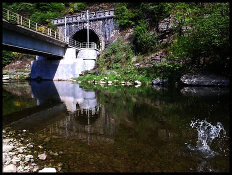 La Lesse Train Bridge