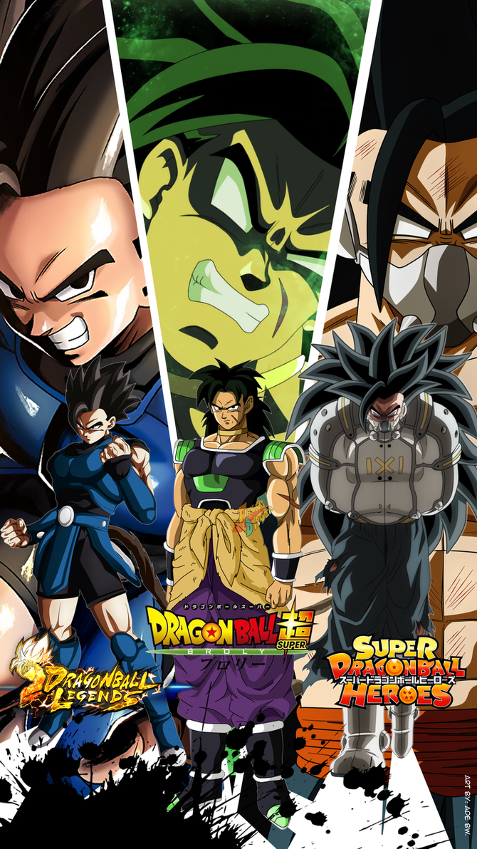 Three Sensational Saiyans in 2018 by AdeBa3388