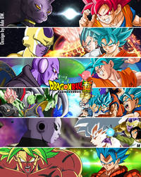 Dragon Ball Super All Opponents by adb3388
