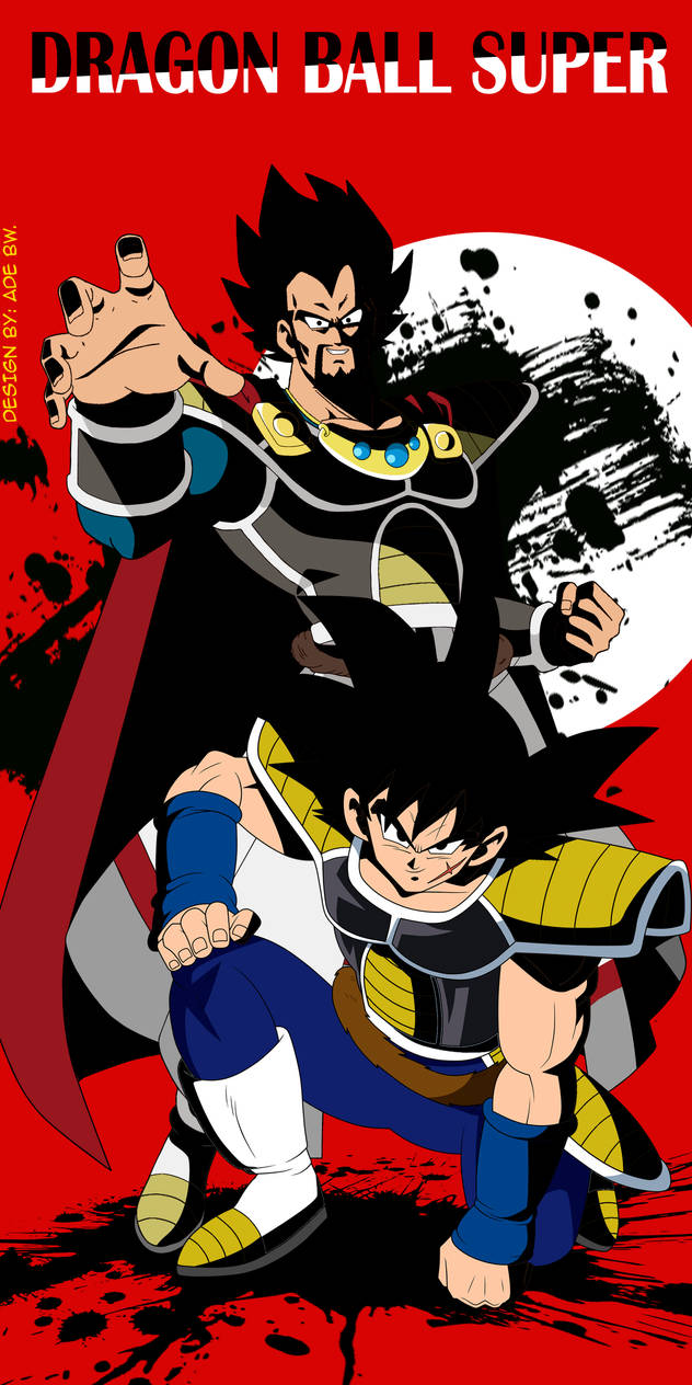 Bardock and King Vegeta by adb3388 on DeviantArt