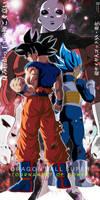 Jiren VS Goku UI + Vegeta SSBE