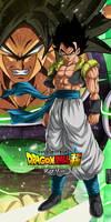 Gogeta Base vs Broly Oozaru Power
