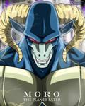 Moro with aura