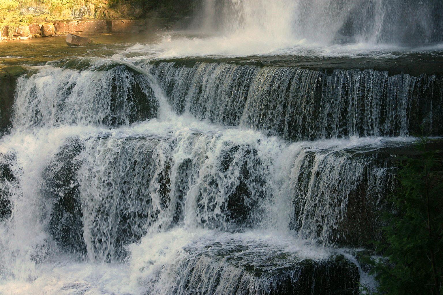 Chittenango Falls Waterfall Stock Image III by MissNioniel