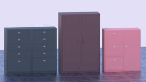 Props - Cabinet Pack 02