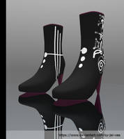 MMD - Nel Boots by Sy-Jei-Vee