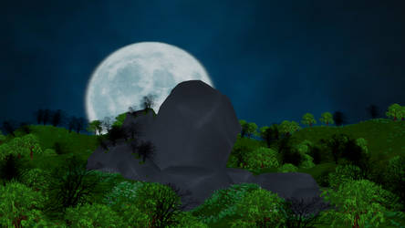 MMD Stage - Under The Moon