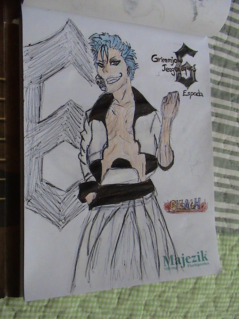 Another Grimmjow from Bleach by ser-en
