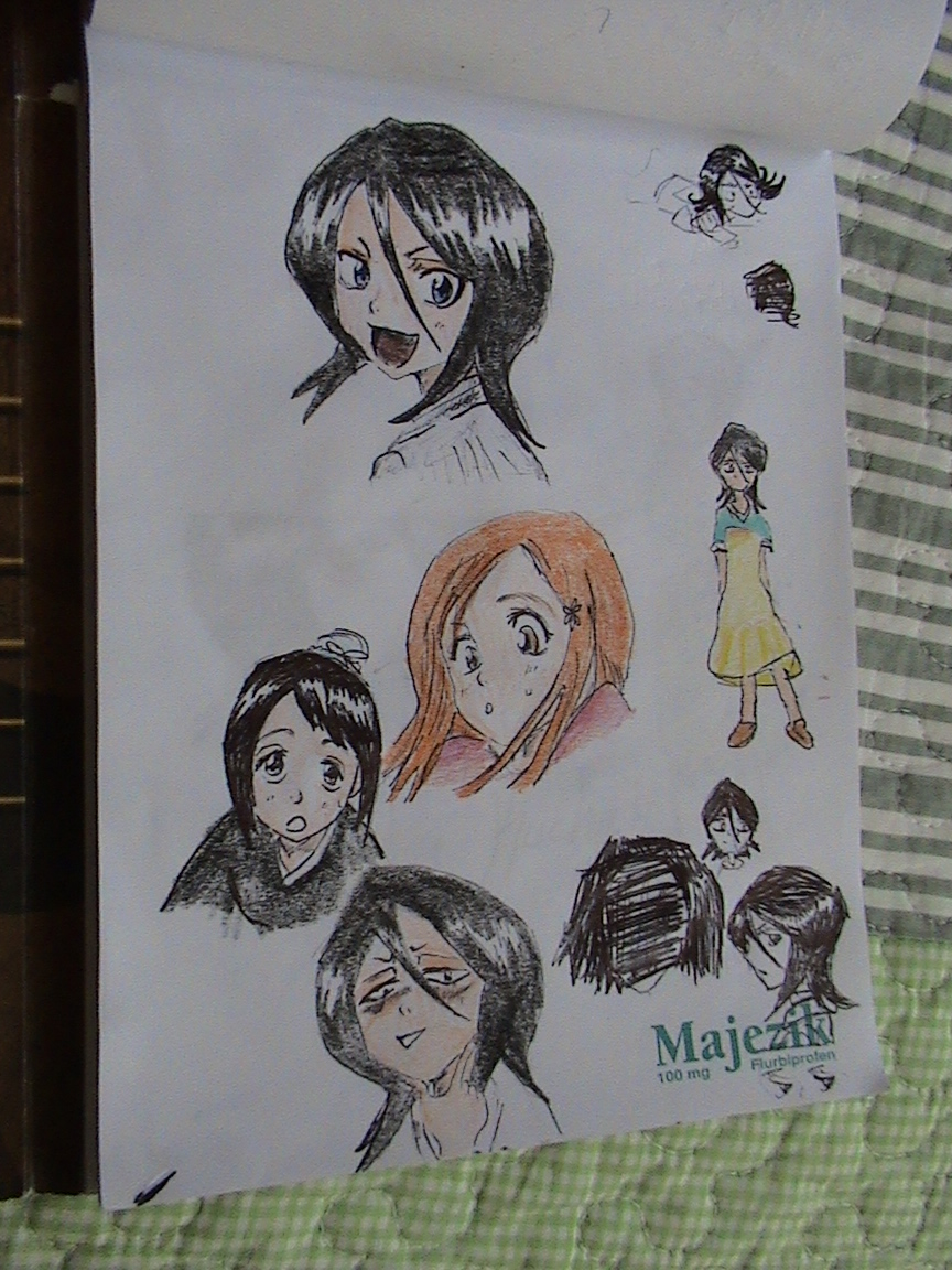 Bleach Girls by ser-en