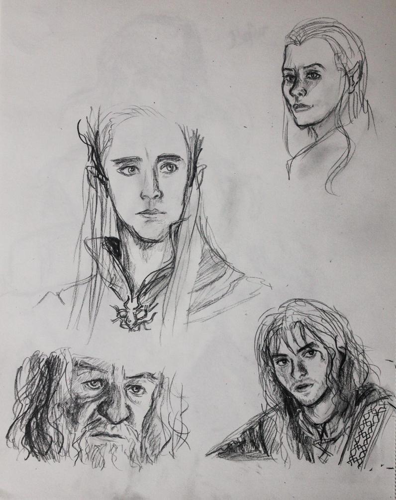 The Hobbit by ser-en
