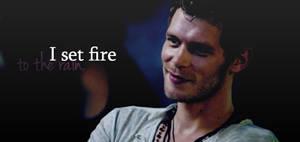 I set fire to the rain by sourissou