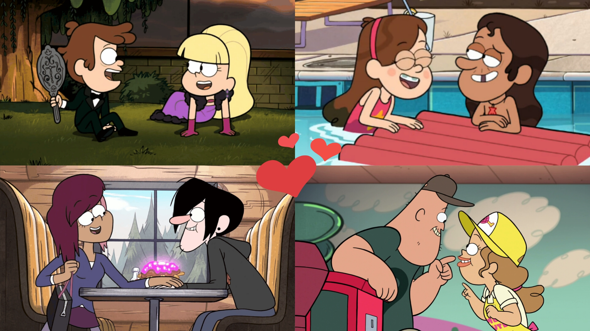 sister sister valentines day episode - My Favourite Gravity Falls Pairings by WG2020TV on DeviantArt