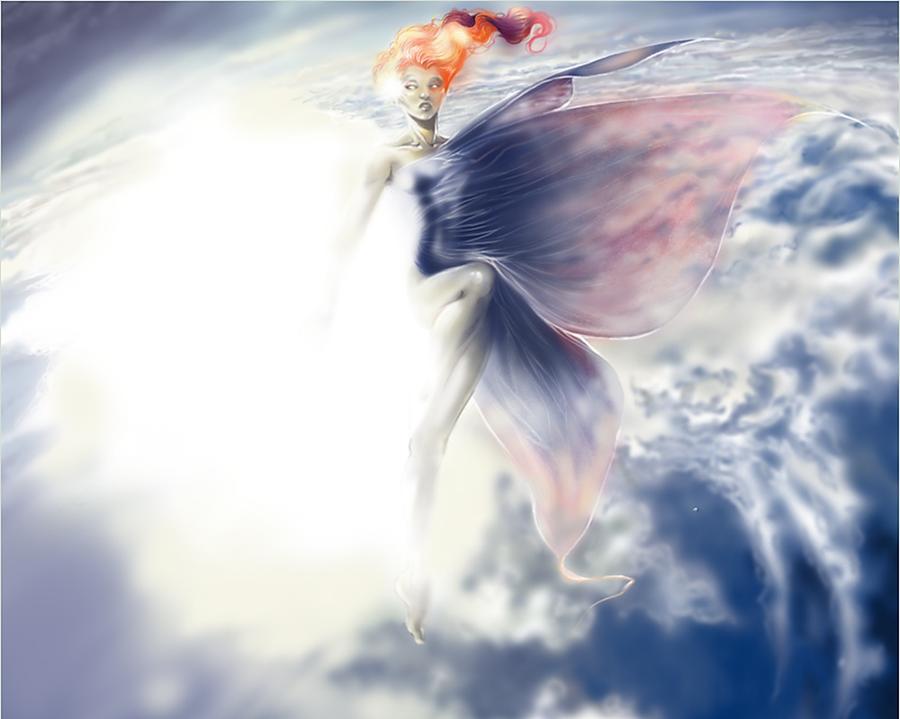 Dawn - Dress of Morning by MagicBunni