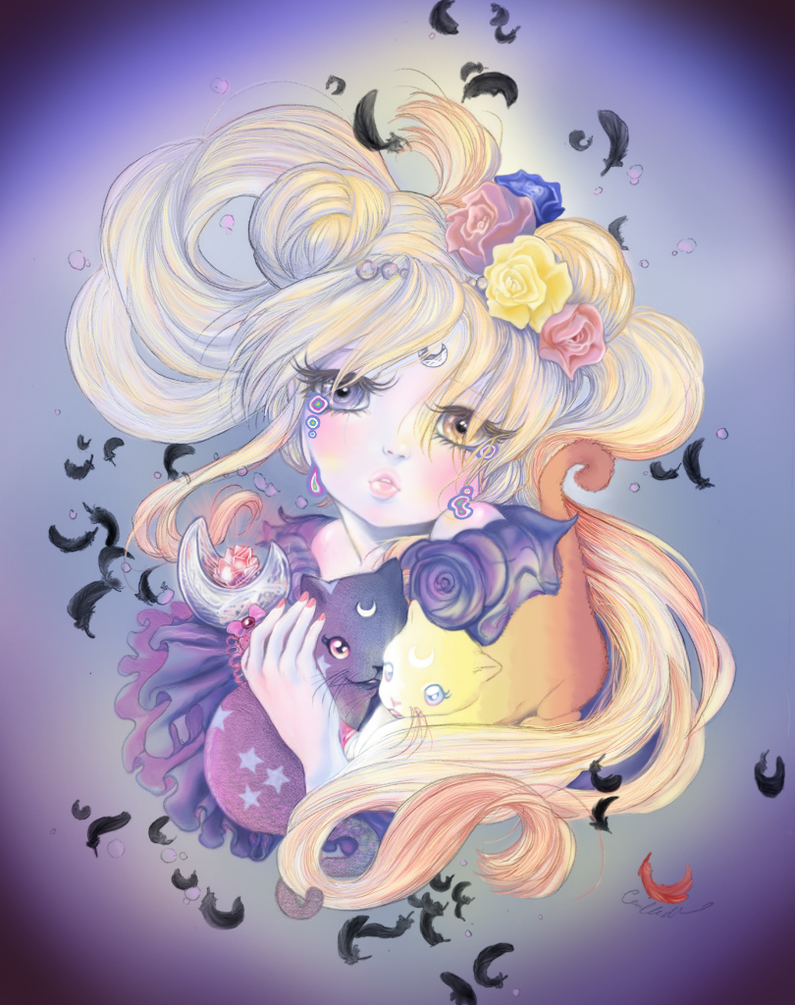 Camilla d'Errico's 'MoonFlower' contest by MagicBunni