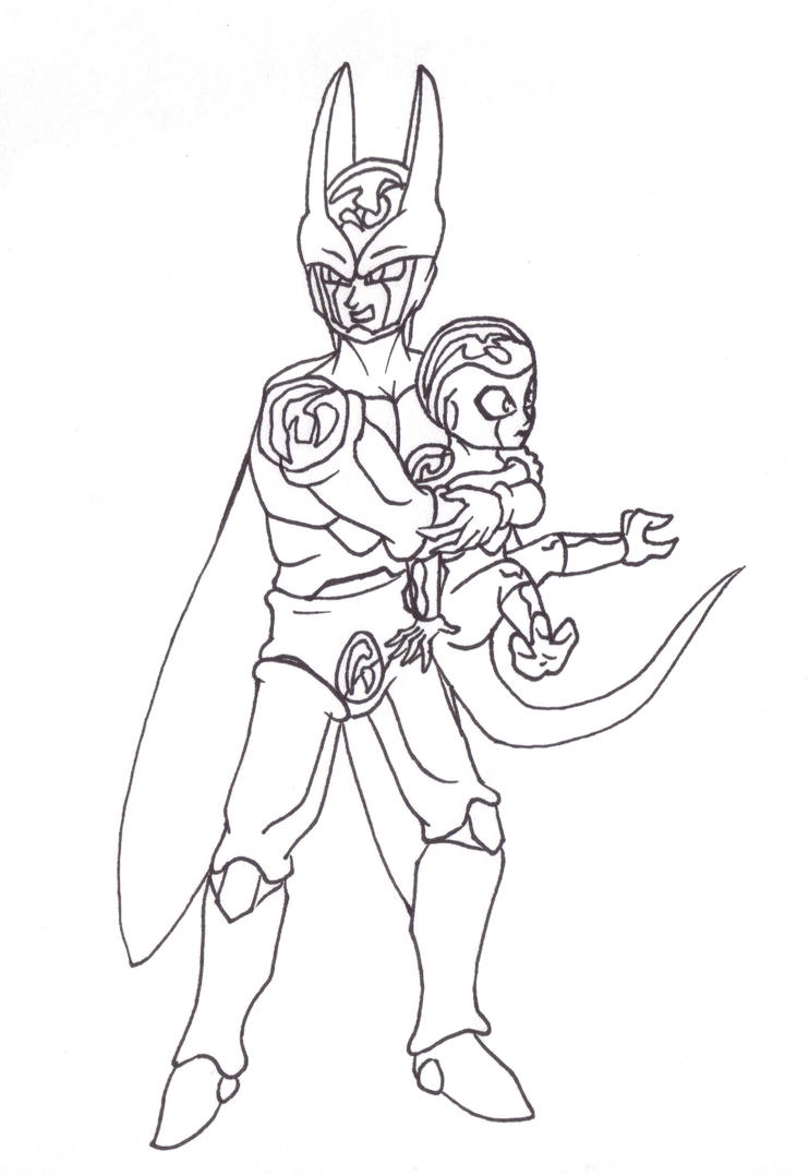 dbz coloring pages frieza - photo#21