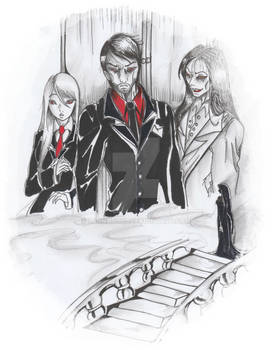 Dark father and the Evil Rose Clan